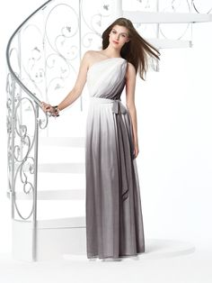 The Dessy Group, Twilight Ombre Bridesmaid dress