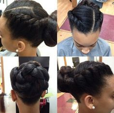 two braid hairstyles black girls - Google Search