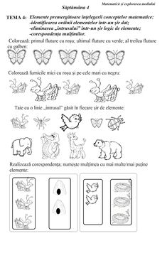 : Săptămâna fișă de lucru M. Worksheets For Kids, After School, Kids Education, Toddler Activities, Kids Learning, Kindergarten, Homeschool, Crafts For Kids, Teacher