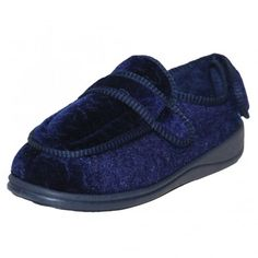 Dr Lightfoot Memory Foam Washable Slippers Rip Tape Boots Warm House Shoes