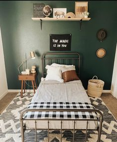 room makeover for kids Mama always knows whats best Green is the winner! Josh got B on board by saying dude, itll feel like youre in the forest he was Green Kids Rooms, Big Boy Bedrooms, Boy Rooms, Teen Bedroom, Boys Bedroom Decor, Deco Studio, Toddler Rooms, Boy Toddler Bedroom, Bedroom Green