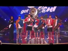 Australia's Got Talent 2013 | Finals | The Brassholes Work Their Brass Off 2016
