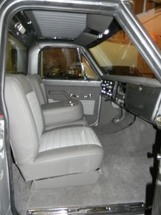 We make interior parts for 47 87 trucks, custom truck interiors, buddy bucket truck seat frame 87 Chevy Truck, Classic Chevy Trucks, Chevrolet Trucks, Gmc Trucks, Chevy Stepside, Lifted Trucks, Classic Cars, Best Seat Covers, Truck Seat Covers