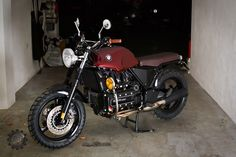 Ruote Rugginose K100 Scrambler, Bmw Old, Bmw K100, Kustom, Custom Bikes, Vehicles, Bike Ideas, Inspiration, Motorcycles