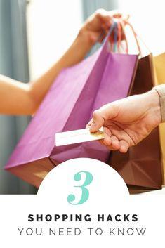 3 Shopping Hacks You