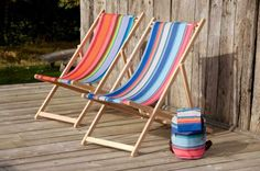 Tissage de Luz Deck Chairs | $140