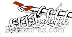 A técnica de crochê tem muitas opções, alguns dos quais são típicos de uma área ou região, como no caso do ponto da Tunísia ou tecido de Afeganistão. Eva Maria Torres de DeLabores, explica passo a passo esta técnica de crochê.
