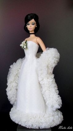 Silkstone Barbie | white gown