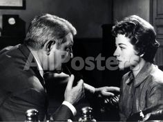 Jean Gabin and Annie Girardot: Maigret Tend Un Pi¨¨ge, 1958 by Marcel Dole Movies Photographic Print - 61 x 46 cm