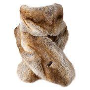 Bont sjaal - namaakbont sjaal. Online aankoop. - Headict.nl