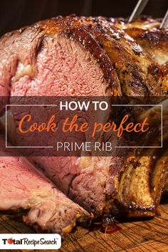 The most mouthwatering recipes, like perfect prime rib, are just a few clicks away with TotalRecipeSearch™. Search for your favorite dishes or discover something new!