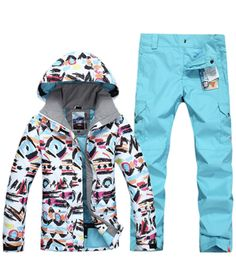 533905688f Snow gsou new ski suit single board ski suit female suit wind proof and waterproof  winter warmth. Product ID
