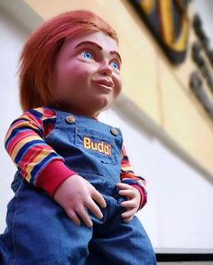 Chucky Buddi doll - Child's Play 2019 Child's Play Movie, 2 Movie, All Horror Movies, Cartoon Movies, New Chucky Movie, Halloween Ideas, Halloween Costumes, Childs Play Chucky, Personal Reference