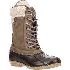 f1581fb56d7 Magellan Outdoors Women s Sweater Collar Duck Boots