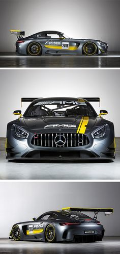 "Mercedes-AMG GT3 inspires the most powerful ""Open Performance"" boat ever, called Cigarette Racing Team 41' SD GT3 boat,  produced by the Cigarette Racing Team. Presented on the international Boat Show in Miami on February, 11, 2016."