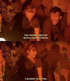 Donna and Ten have the funniest relathionship.
