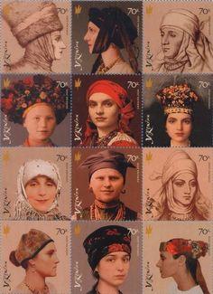 Ukrainian Traditional Headwear. ??? (Не все относятся к Центральной Украине).