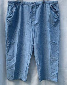 Woman Within 100% Cotton Elastic Waist Shorts Black Sz 30w Drawstring Nwot Plus Women's Clothing
