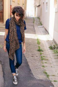 Comment porter l imprimé léopard Mode Cool, Et Pourquoi Pas Coline, Parler, c8cc33c701e