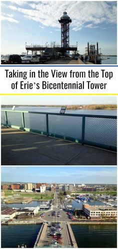 If you've ever been to Erie's waterfront or Presque Isle State Park, it's likely that you've seen the Erie Bicentennial Tower standing tall above the city's skyline. Built in 1996 to commemorate the city's bicentennial, the tower stands nearly 200-feet tall, making it one of the tallest structures in Erie. Presque Isle State Park, Tower Stand, Lake Erie, Boat Tours, Travel Articles, Most Visited, Stand Tall, Stunning View, Beach Fun