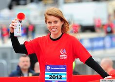 Princess Beatrice at National Lottery Olympic Park Run