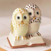 Herend owls.   So cute