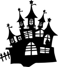 Silhouette Online Store: halloween haunted castle