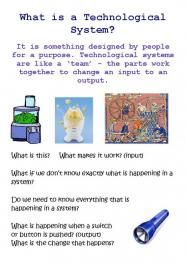 What is a technological system?