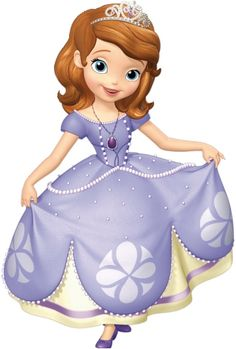 Sofia the First inspired cropped image