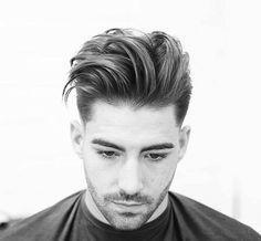 Long Textured Quiff Haircut + Low Fade - Best Men's Textured Haircuts - Cool Textured Hairstyles For Men + Textured Hair For Guys Quiff Hairstyles, Cool Mens Haircuts, Cool Hairstyles For Men, Modern Hairstyles, Textured Hairstyles, Men's Haircuts, Asian Hairstyles, Hairstyles 2018, Medium Hair Styles