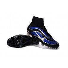 aba3a1eed37 Nike Mercurial Superfly Heritage FG Royal Blue Black White cheap football  shoes Cheap Football