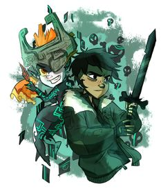 Twilight Princess and The Ghost King I LOVE THIS