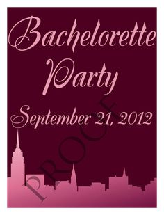 Items similar to Bachelorette Party Wine Label or Digital File Custom & Personalized Available on Etsy Wedding Wine Labels, Bachelorette Parties, Neon Signs, Digital, Colors, Party, Etsy, Bridal Showers, Colour