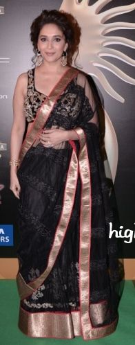 Madhuri Dixit in Jade by Karishma and Monica