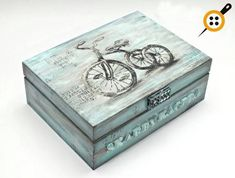 Wooden Painting Box Models 52 Pieces - Examples of Wooden Painting at Home - Wooden painting box models Informations About Ahşap Boyama Kutu Modelleri 52 Adet – Evde Ahşap b - Decoupage Wood, Decoupage Vintage, Shabby Vintage, Shabby Chic, Painted Boxes, Wooden Boxes, Wooden Painting, Recycled Decor, Tea Box
