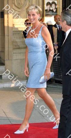June 3, 1997: Diana, Princess of Wales at the English National Ballet production of Swan Lake at the Royal Albert Hall.