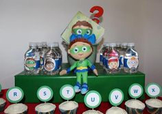 "Photo 5 of 23: Super Why / Birthday ""Victor's 3rd Birthday!"""