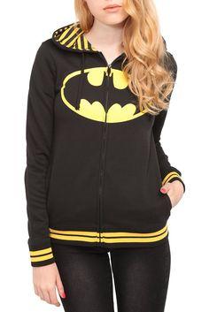 Batman Hoodie... WITH BAT EARS!!!