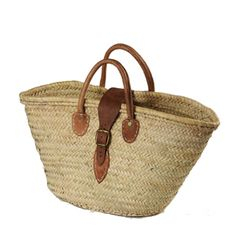handmade in Morocco. this would make a great picnic basket