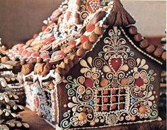 Волшебные пряничные домики, которые создают настоящую атмосферу зимнего праздника