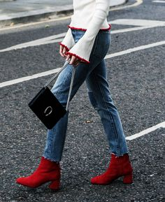 a5bd236e5d62 The Only Ankle Boot Trends You Need to Pay Attention to This Year. Kitten  Heel ...