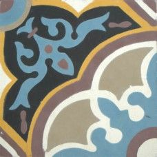 Moroccan Encaustic Cement Pattern 29e | £ 2.80 | Moroccan Encaustic Cement Pattern Tiles | Best Tile UK | Moroccan Tiles | Cement Tiles | Encaustic Tiles | Metro Subway Tiles | Terracotta Tiles | Victorian Tiles