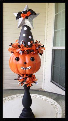 Halloween Magic Man:  A Cute Halloween Decoration