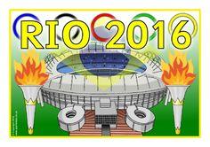 Rio 2016 Display Poster (SB11396) - SparkleBox