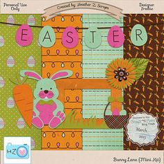 FREE Heather Z. Scraps: March Blog Train!!!