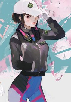 """va"""" Song, the two of you are recruited into the now reformed organization Overwatch. Character Inspiration, Character Art, Character Design, The Flash Mask, Geeks, Rainbow Six Siege Art, Overwatch Wallpapers, Overwatch Fan Art, Digital Art Girl"""