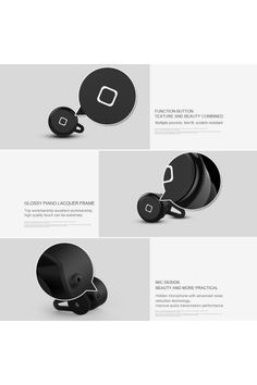 Mini Wireless Bluetooth Stereo Headphones Earbuds Headset - OASAP.com