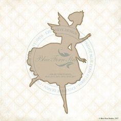 Reneabouquets New Item Listing~Blue Fern Studios Laser Cut Chipboard Garden Fairy