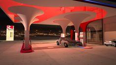 Gas Station (EKO) in Heraklion of Crete Design by White-Architecture