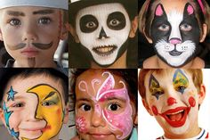 Giocabosco: creare con Gnomi e Fate: Idee per truccare i bambini a carnevale